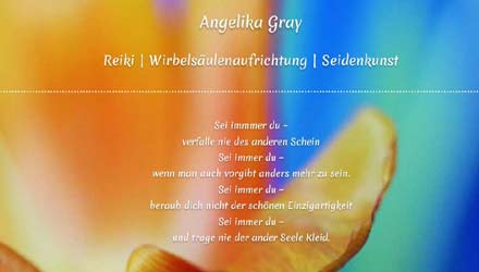 Angelika Gray – Seminare
